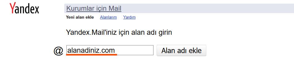 yandex mail ayarlari 2