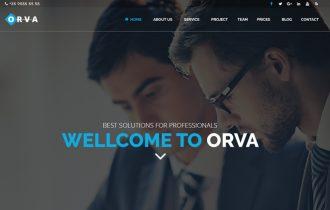 ORVA – THEMEFOREST KURUMSAL ARAYÜZ
