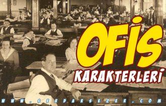 OFİS KARAKTERLERİ
