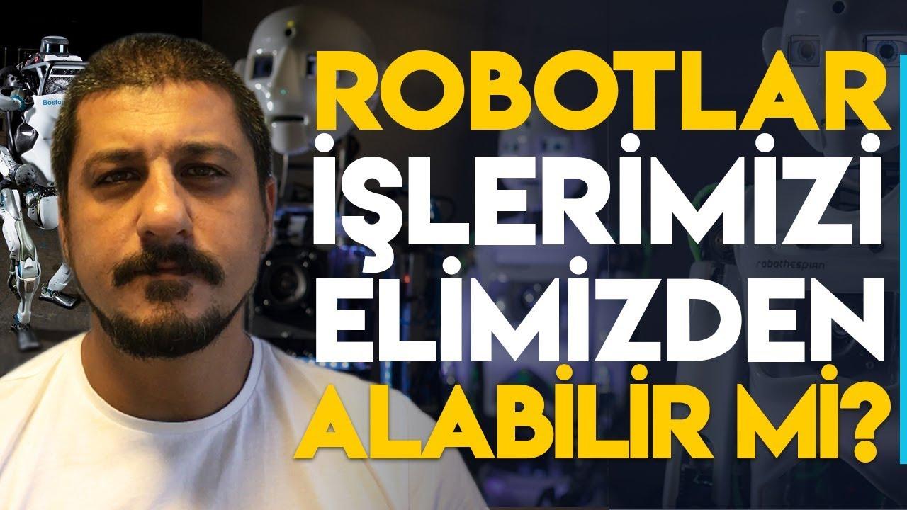 robotlar işlerimizi elimizden alabilir mi