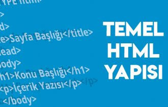 TEMEL HTML YAPISI