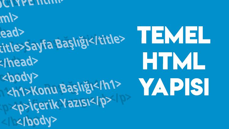 temel html